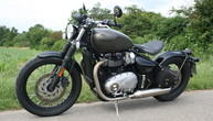 Test Triumph Bonneville Bobber: Past perfect